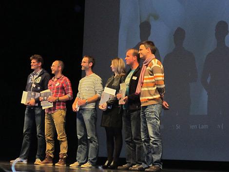 Entrega de premios GDT 2012